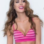 SEAMLESS PUSH UP COPAS RAYAS FUCSIA DEBORAH