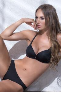Bikini con frunce PRISTINE